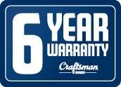6 years warranty on engines!