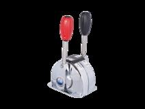 Dual lever, single engine control MARINE