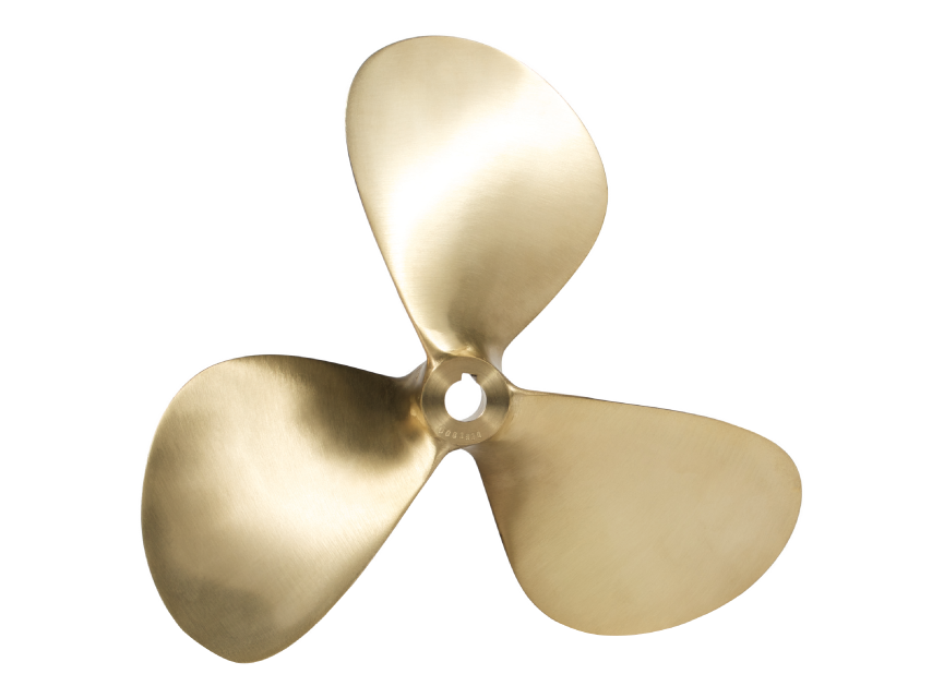 Craftsman Marine propellers are machined with a tapered shaft hole (1 ...